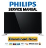 Philips 65PUS9109 65PUS9809 55PUS9109 55PUS8909C Service Manual and Repair Guide