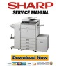 Sharp MX-2301N 2600N 3100N 2600G 3100G Service Manual