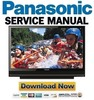 Panasonic PT-50LCZ7 56LCZ7 61LCZ7 Service Manual & Repair Guide