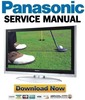 Thumbnail Panasonic TH-42PX600U FULL Service Manual & Repair Guide