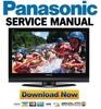 Thumbnail Panasonic TH-42PX75 Service Manual + Technical Training