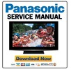 Thumbnail Panasonic TH-42PZ800U Service Manual & Repair Guide