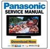 Thumbnail Panasonic TH-42PZ800U Service Manual & Repair Guide