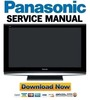 Thumbnail Panasonic TH-42PZ80 FULL Service Manual & Repair Guide