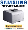 Thumbnail Samsung ML-3050 3051N Service Manual Repair Guide