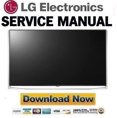 Product picture LG 65UB9800 UA Service Manual and Repair Guide