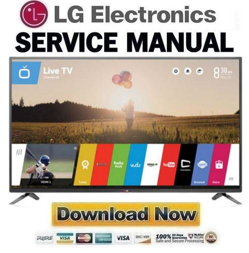 Product picture LG 70LB7100 UC  Service Manual and Repair Guide