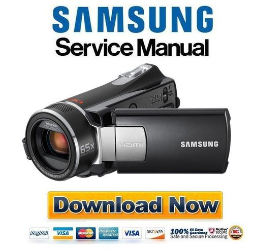 Product picture Samsung SMX K40 K44 K45 Service Manual & Repair Guide
