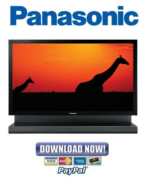 Product picture Panasonic TH-103PF10WK + TH-103PF10TK + TH-103PF10RK Service Manual & Repair Guide