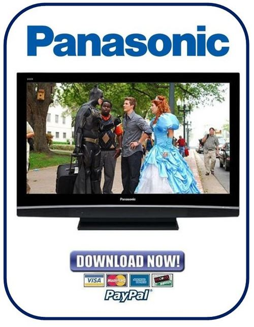 Product picture Panasonic TH-37PV80 + TH-42PV80 Series Service Manual & Repair Guide