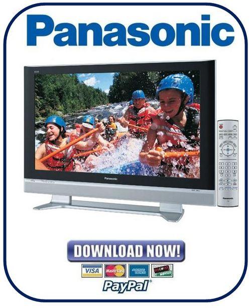 Product picture Panasonic Viera TH-37PX50U + TH 42PX50U + TH-50PX50U FULL Service Manual & Repair Guides